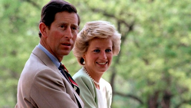 Prinz Charles und Prinzessin Diana (Bild: LASZLO VARGA / EPA / picturedesk.com)