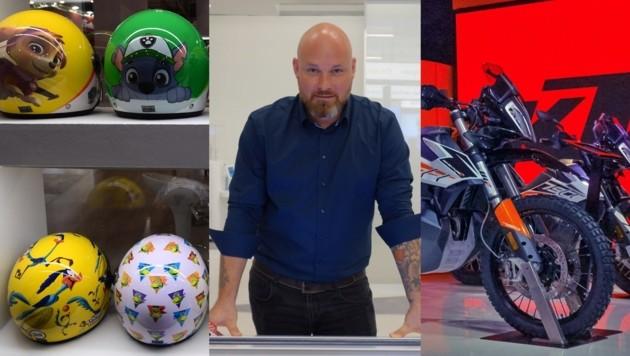 Jürgen Weiss entwickelte eine lebensrettende Sensor-Technologie für Motorrad-Helme, die immer weitere Kreise zieht.