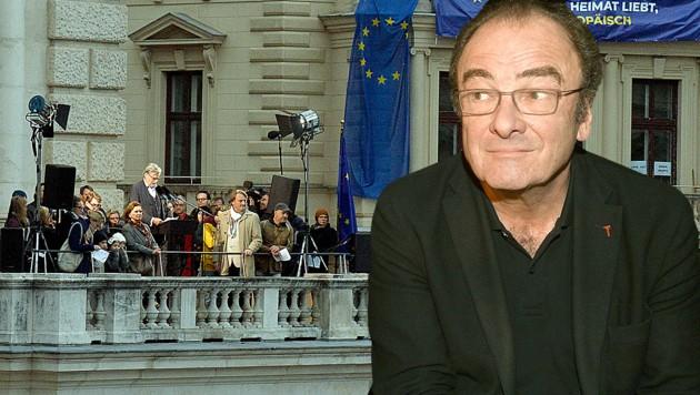 Künstler riefen die Europäische Republik aus