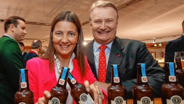 Stiegl-Chefs Alessandra und Dieter Kiener