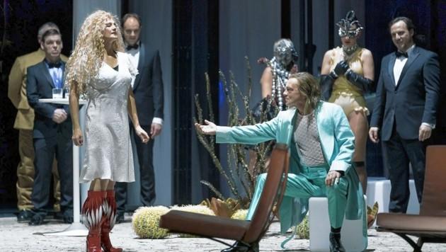 """Johanni van Oostrum und Manuel von Senden in der """"Salome"""" an der Grazer Oper"""