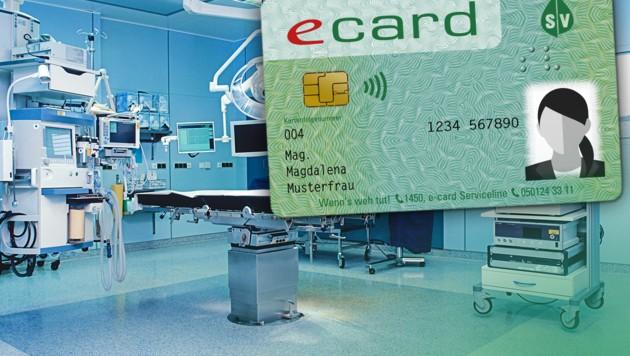 Endlich mehr Kontrolle: E-Card ab 2019 mit Foto