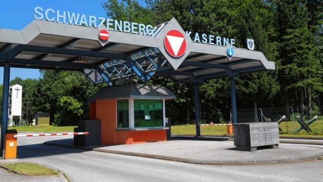 Die Schwarzenbergkaserne in Salzburg (Bild: TOPPRESS Austria)