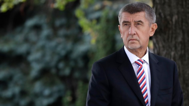 Tschechiens Ministerpräsident Andrej Babis (Bild: Associated Press)