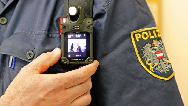 Bodycam der Wiener Polizei