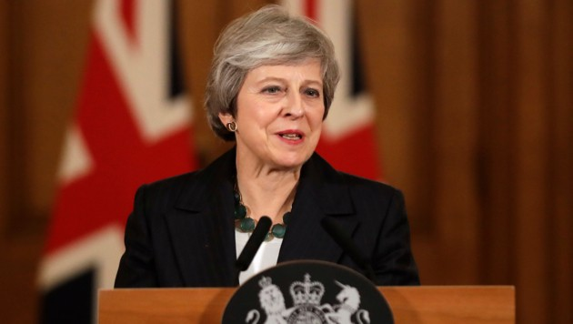 Theresa May (Bild: AP)
