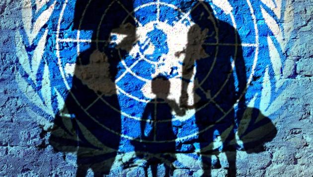 Beim UNO-Migrationspakt haben ÖVP und Grüne unterschiedliche Ansichten. Die Koalitionspartner versuchen gar nicht, die konträren Ansichten zu leugnen. (Bild: United Nations, stock.adobe.com, krone.at-Grafik)