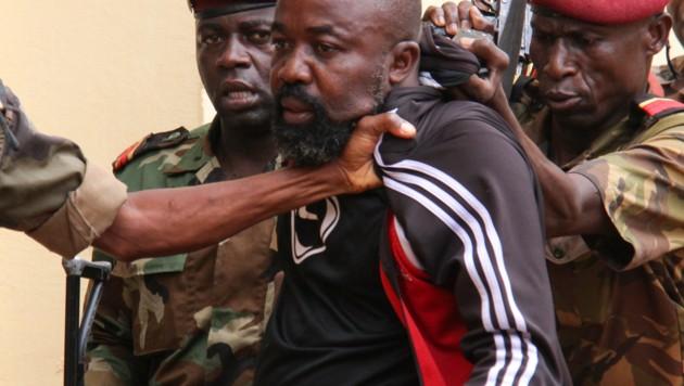 Alfred Yekatom bei seiner Verhaftung
