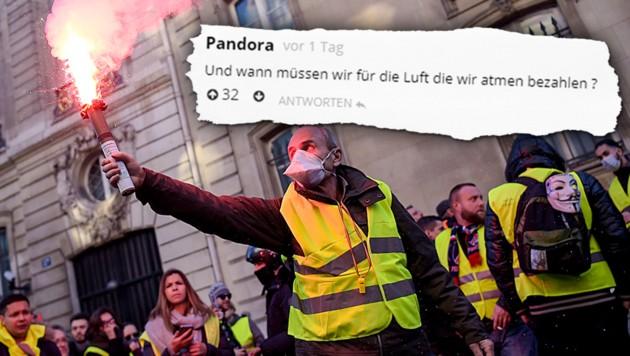2 € für Liter Benzin: Würden Sie protestieren?