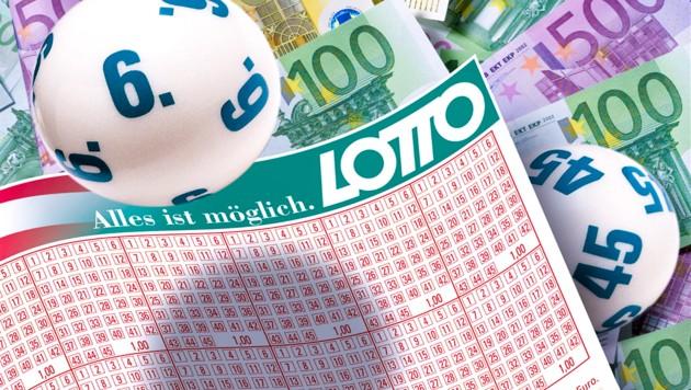 Symbolfoto. (Bild: Österreichische Lotterien/Peter Svec, krone.at-Grafik)