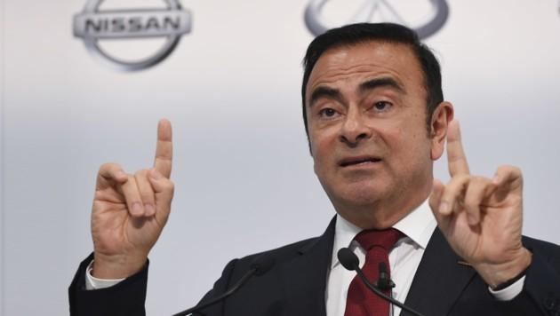 Carlos Ghosn (Bild: APA/AFP/Toshifumi KITAMURA)