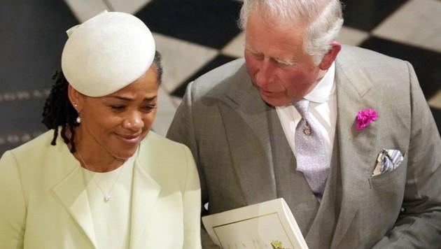 Doria Ragland und Prinz Charles (Bild: AFP)