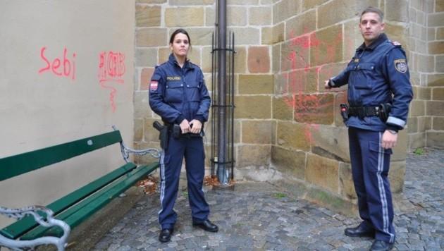 Die Revierinspektoren Tanja T. und Christoph R. kamen den Jugendlichen auf die Spur
