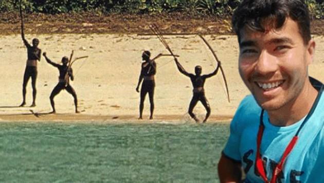 Der 27-jährige John Allen Chau aus den USA wurde von Ureinwohnern einer indischen Andamanen-Insel getötet.