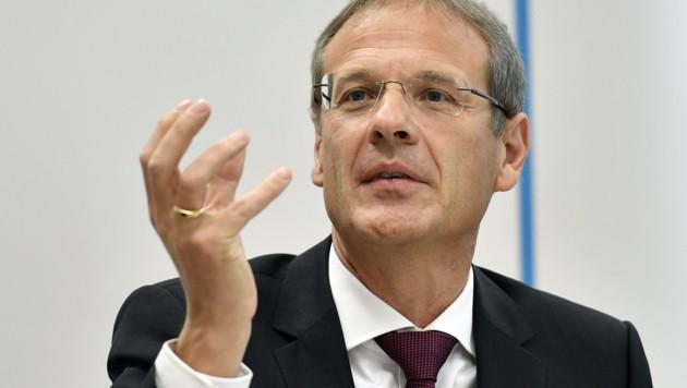 Europarechtsexperte Walter Obwexer (Bild: APA/HANS PUNZ)