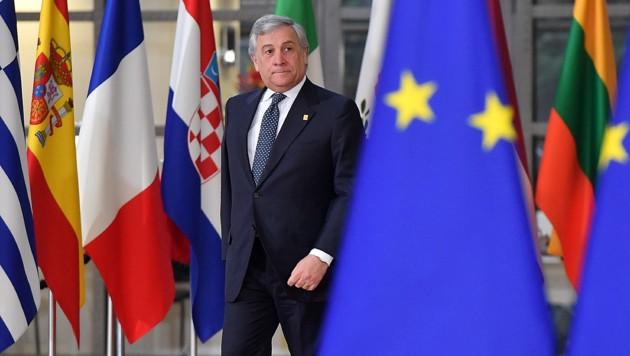 Antonio Tajani (Bild: AFP)