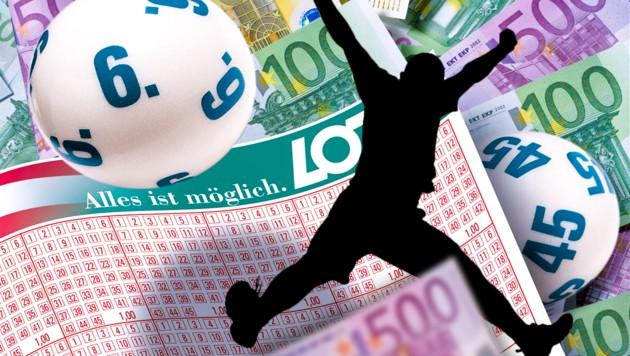 (Bild: Österreichische Lotterien/Peter Svec, stock.adobe.com, krone.at-Grafik)