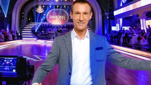 """Dancing Star"" Stefan Petzner (Bild: ORF, krone.at-Grafik)"