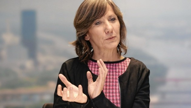 Wiens Vizebürgermeisterin Birgit Hebein