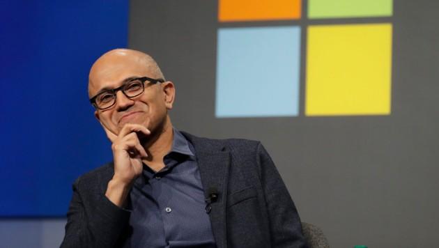 Microsoft-Boss Satya Nadella (Bild: AP)