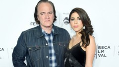 Quentin Tarantino und Daniella Pick (Bild: 2017 Getty Images)