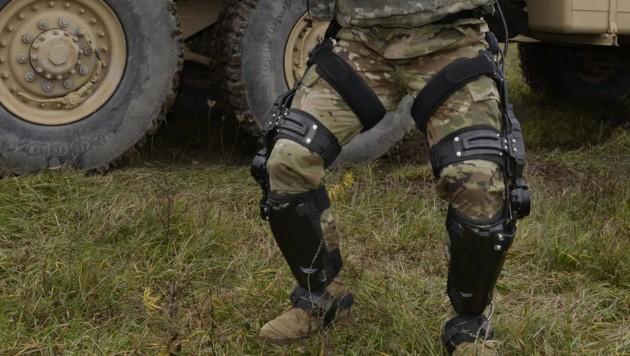 Der US-Rüstungskonzern Lockheed Martin erprobt Exoskelette für das Militär.