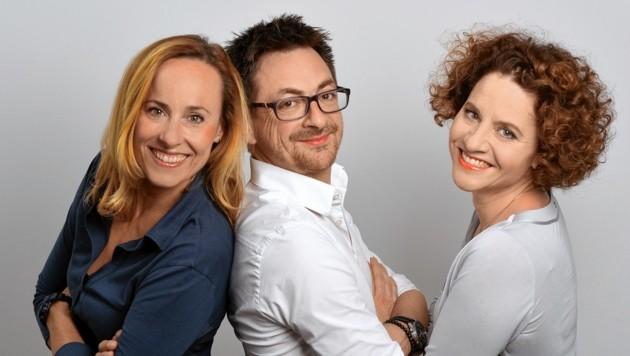 Ines Muchitsch, Stefan Korsatko und Elisabeth Strobl-Gobiet (v. li.) haben ihre drei Kassenstellen zusammengelegt.