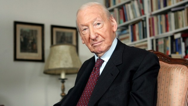 Kurt Waldheim im Jahr 2004 (Bild: APA)