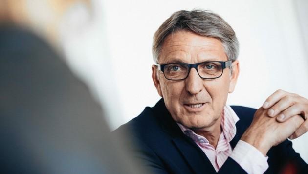 Der steirische Wirtschaftskammer-Präsident Josef Herk (Bild: Marija Kanizaj)