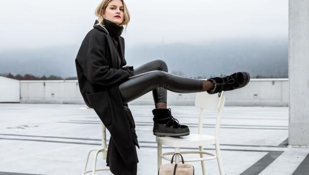 Mit den stylischen Kuschel-Boots der Saison kriegt man sicher keine kalten Zehen. (Bild: Humanic)