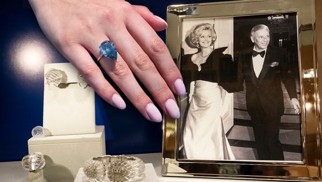 Sinatra Verlobungsring Um 1 5 Mio Versteigert Krone At