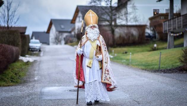 Heuer kommt der Heilige Nikolo via Videobotschaft (Symbolfoto). (Bild: Markus Wenzel)