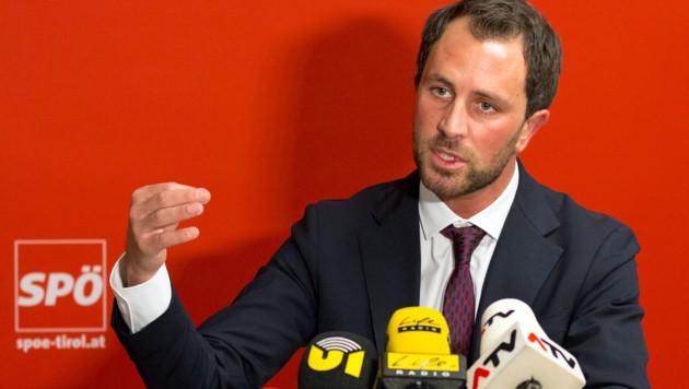 """Tirols SPÖ-Chef Georg Dornauer ist laut Neos und Liste Fritz auf einem """"Egotrip"""". (Bild: APA/EXPA/Jakob Gruber)"""