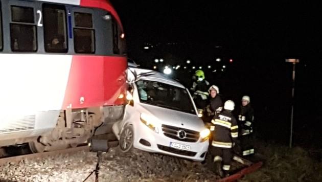 Zugsunglück im Lavanttal am 6. Dezember 2018 (Bild: Georg Bachhiesl)