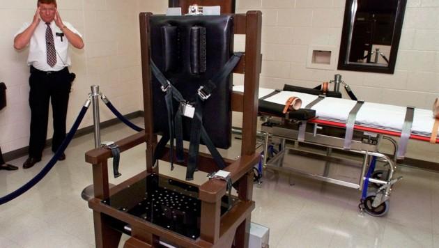 Die Hinrichtungskammer im Gefängnis von Nashville, Tennessee (Bild: AP)