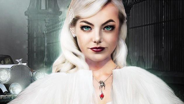 "Emma Stone ist im ""101 Dalmatiner""-Remake Cruella De Vil (Bild: www.PPS.at)"