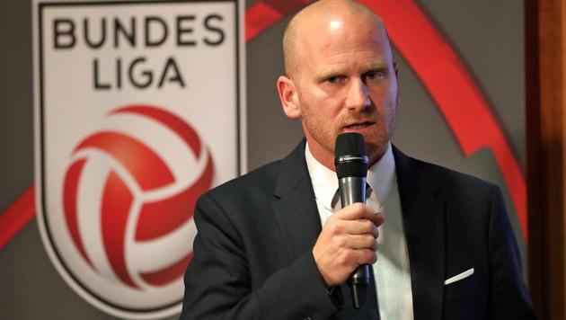 Bundesliga-Vorstand Christian Ebenbauer (Bild: GEPA)