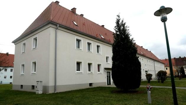 In diesem Haus kam es zur schrecklichen Bluttat. (Bild: APA/Klaus Mader/fotokerschi.at)