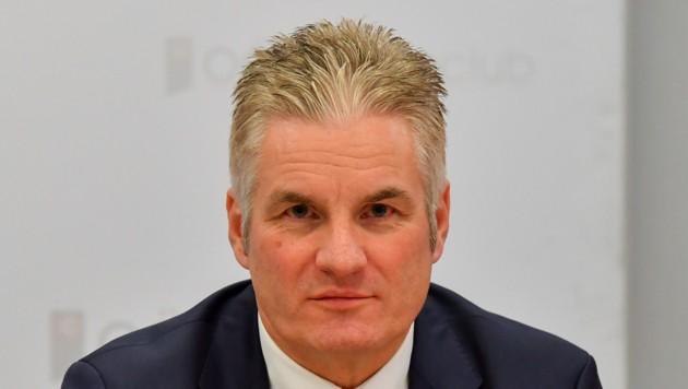 Karl Lehner, Vorstandssprecher in der Gespag-Führung (Bild: © Harald Dostal / 2018)