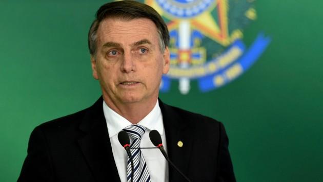 Brasiliens künftiger Präsident Jair Bolsonaro (Bild: AFP )