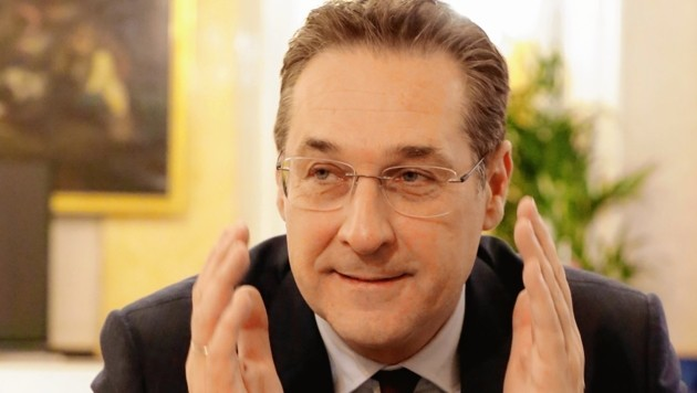 Vizekanzler Heinz-Christian Strache (FPÖ)
