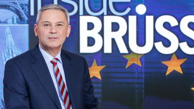 Peter Fritz, ORF-Korrespondent in Brüssel (Bild: ORF)
