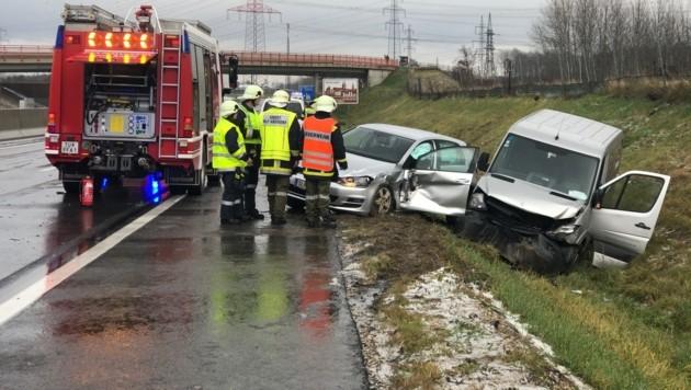 Der Unfallort (Bild: APA/FEUERWEHR)
