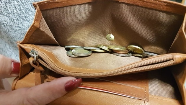 Lassen Sie nie Fremde in Ihre Geldbörse greifen. (Bild: Serina Babka)
