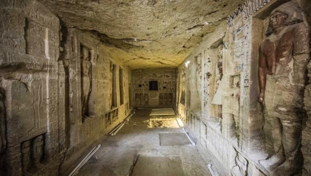 Über 4400 Jahre altes Grab in Ägypten entdeckt