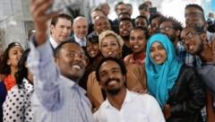 Bundeskanzler Sebastian Kurz in Äthiopien im Dezember 2018 (Bild: DRAGAN TATIC)