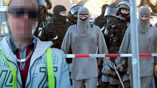 Polizei jagte Nürnberg-Messerstecher in Kettenhemd