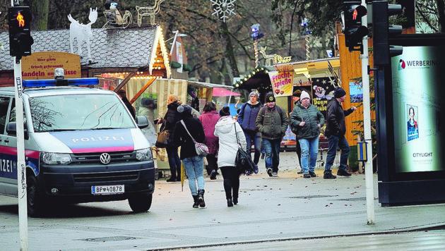 Linzer Adventmärkte für Bettler unattraktiv