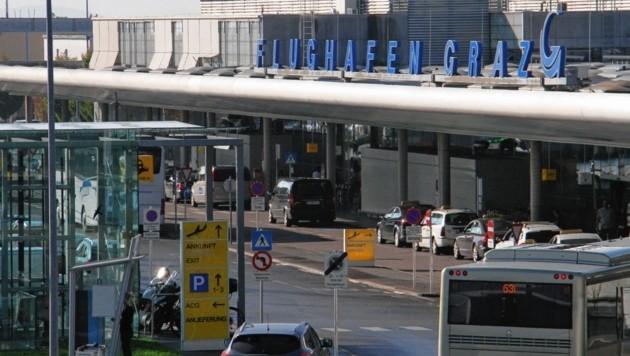 Der Grazer Airport (Bild: Kronenzeitung)