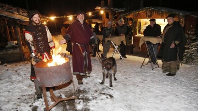 Mittelalterlicher Weihnachtsmarkt.Mittelalterlicher Weihnachtsmarkt In Friesach Krone At